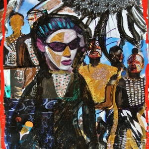 African Surprise I, 2015