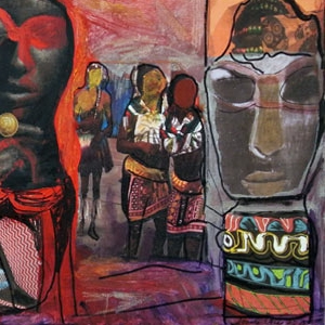 African Surprise Totems, 2015