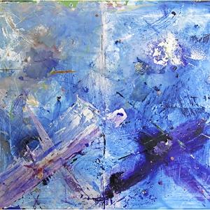 Pompidou Blue, 1981