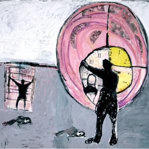 Yellow Clock, 1998